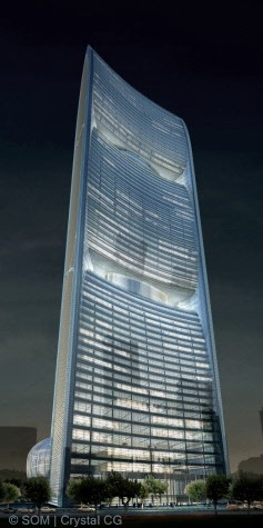 copyright by Skidmore, Owings, and Merrill, LLP